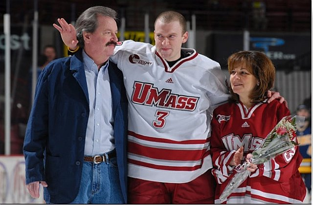 UMass Senior Night, 2008